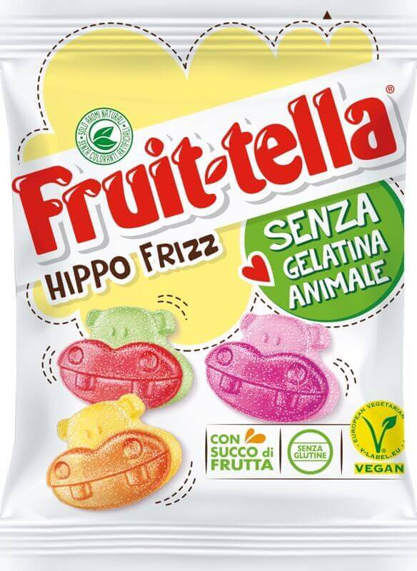 Fruittella Hippo Frizz
